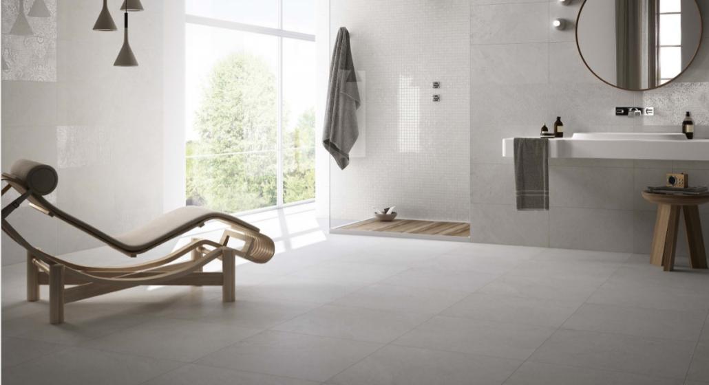 verschillende soorten badkamer tegels